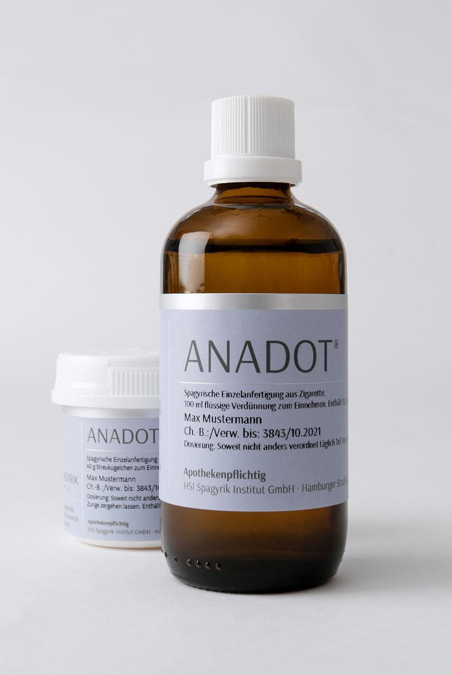 Anadot – spagyrisches Medikament HSI Spagyrik Institut Braunschweig