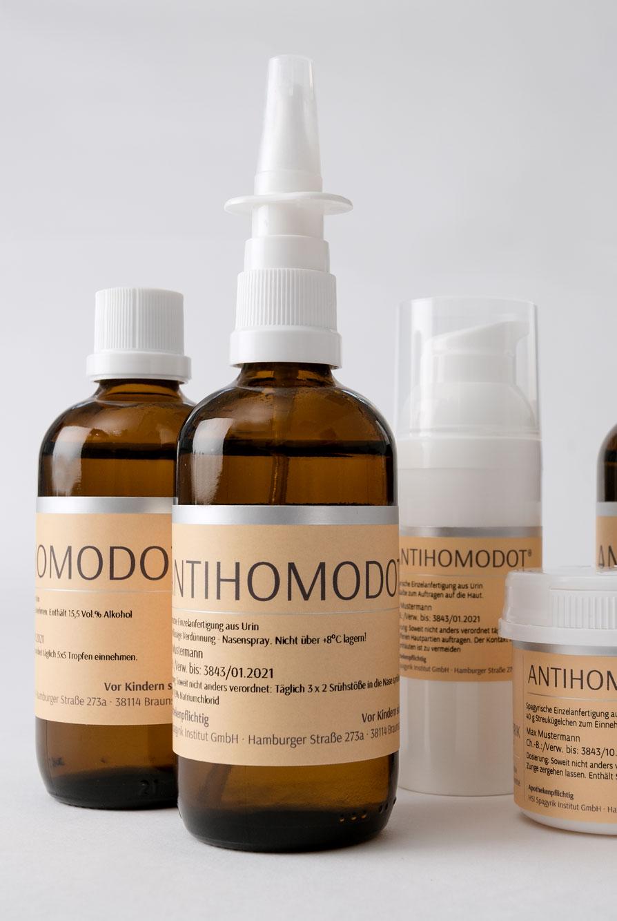 Antihomodot – spagyrisches Medikament HSI Spagyrik Institut Braunschweig